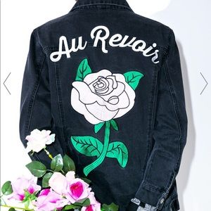 Valfre black denim jacket !